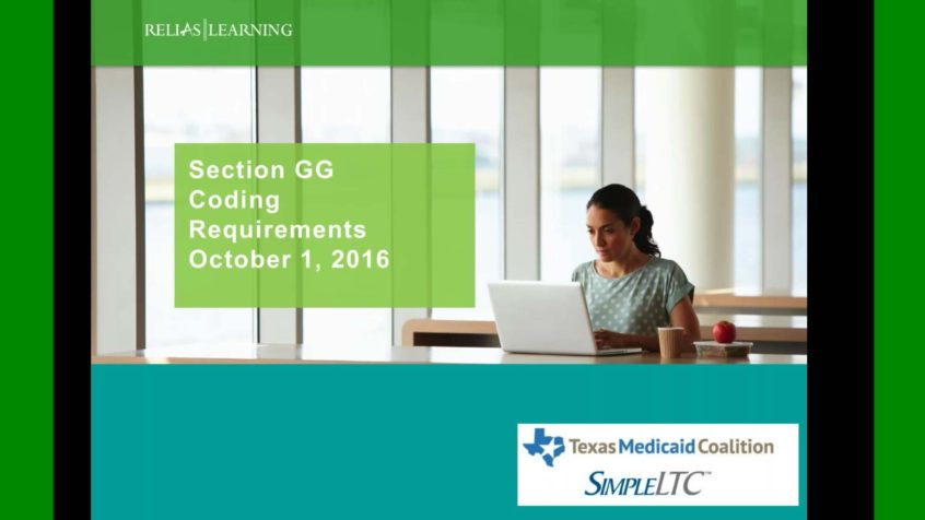 Section GG training for MDS 3.0 - Free on-demand webinar